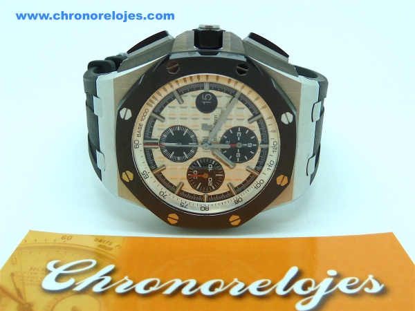 AUDEMARS PIGUET ROYAL OAK OFFSHORE CHRONO CERAMIC