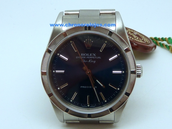 Vendido Foro Relojes De Compraventa King 14010 Ref Rolex Air Acero 8OPn0kw