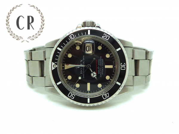 ROLEX SUBMARINER 1680 RED 1975 FULL